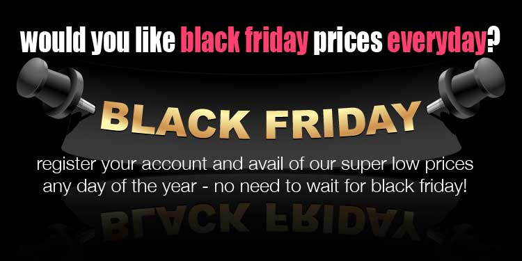 Black Friday Prices Everyday