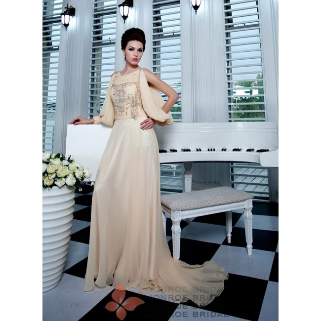 Jamelia - Elegant Chiffon Dress