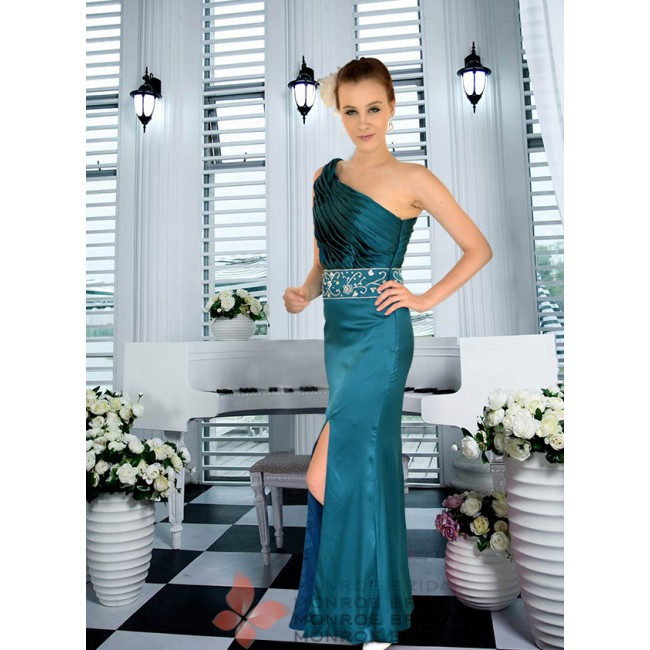 Sanika - Gorgeous One Shoulder Evening Gown
