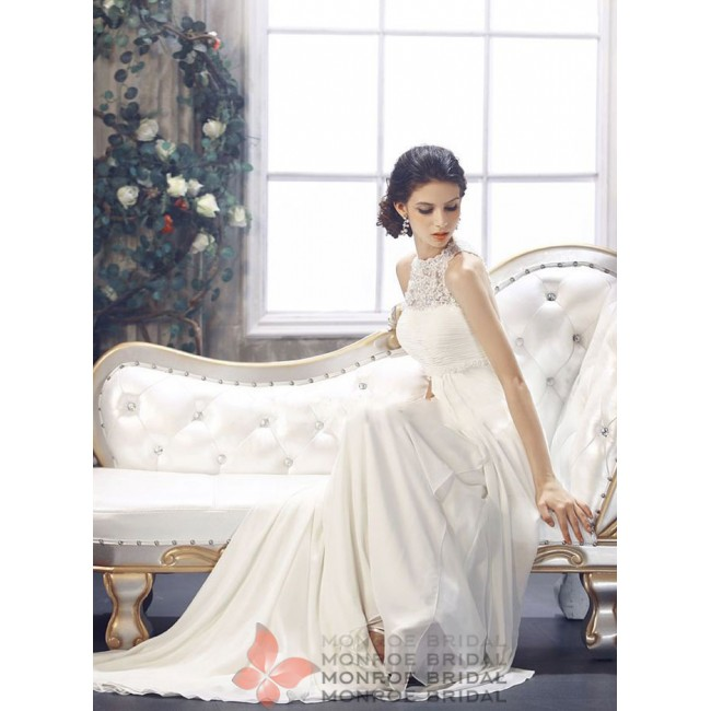 Alice - Empire Chiffon Wedding Gown