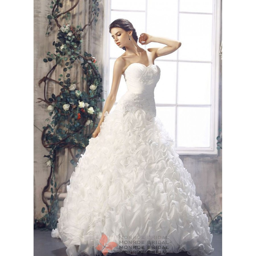Asia - Tulle Ball Gown Wedding Dress- Beautiful Tulle Ballgown ...