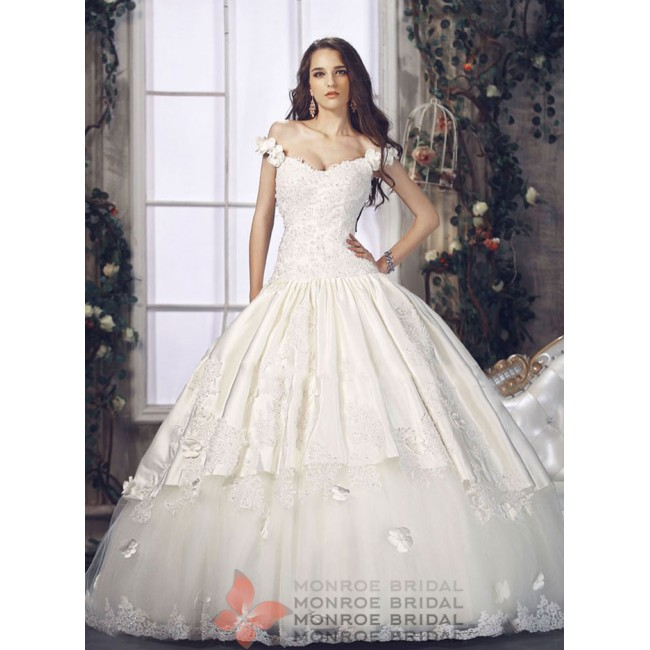 Charlie - Satin Ball Gown