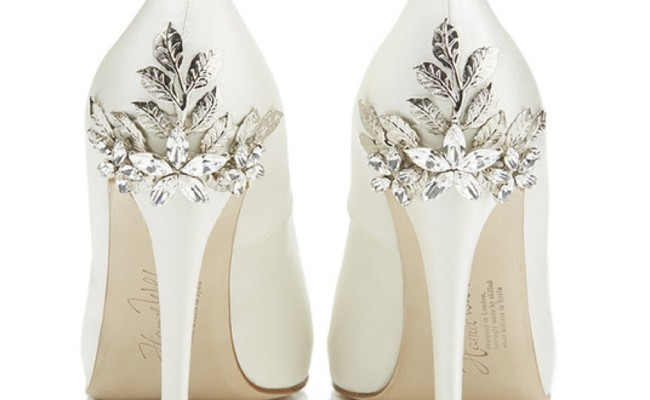 decorative wedding shoes