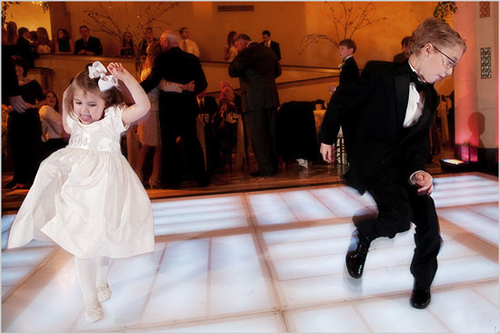 First wedding dance - kids