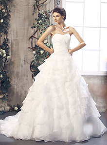 A Line Wedding Dress / Princess Wedding Dress