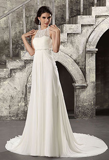 Bridal style guide for Best wedding dress style for small bust
