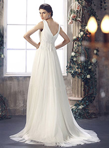 Sheath / Column Wedding Dress